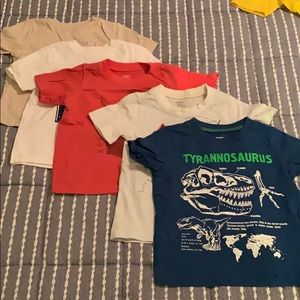 Bundle of 5 shirts, 24 months